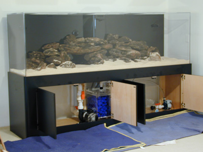 300 Gallon R Fish Tank Aquarium Design Marine Aquariums And C Reef Stand Canopy Filter System